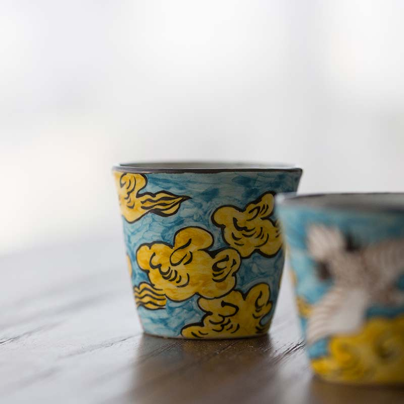 Cloud 9 Handpainted Teacup