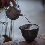 Midnight Wood Fired Teapot B