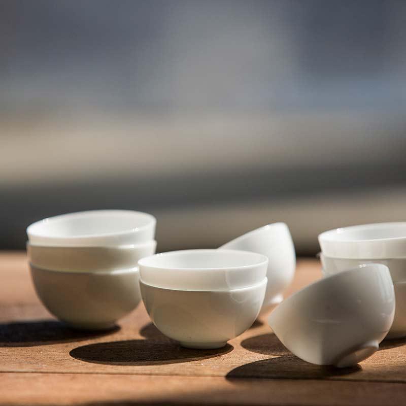 Eggwhite Teacup