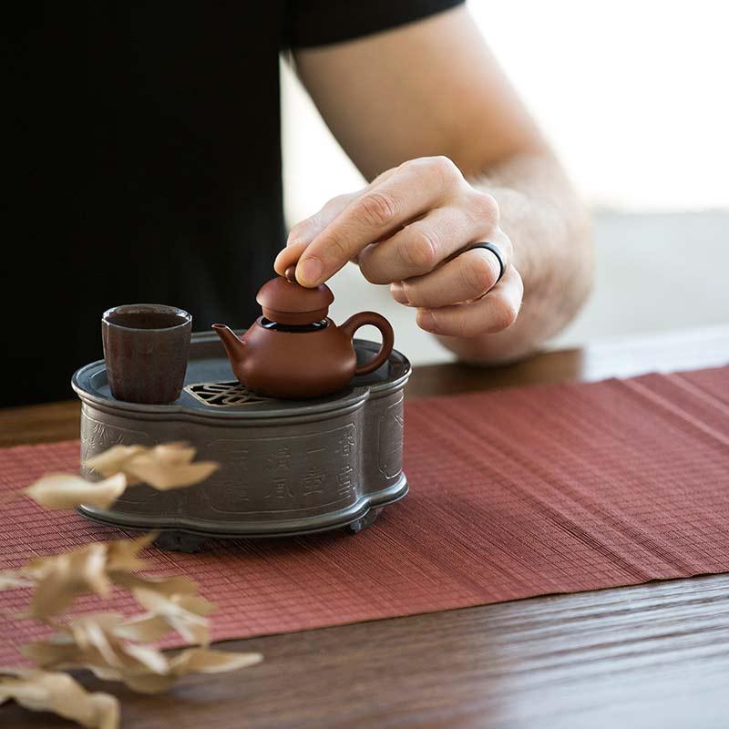 Chaozhou Da Hong Pao Clay Pear Teapot (60ml)