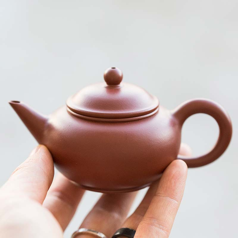 Chaozhou Da Hong Pao Clay Shuiping Teapot
