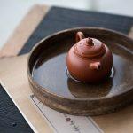 Xinjing Engraved Yixing Zhuni Clay Teapot – Paozun