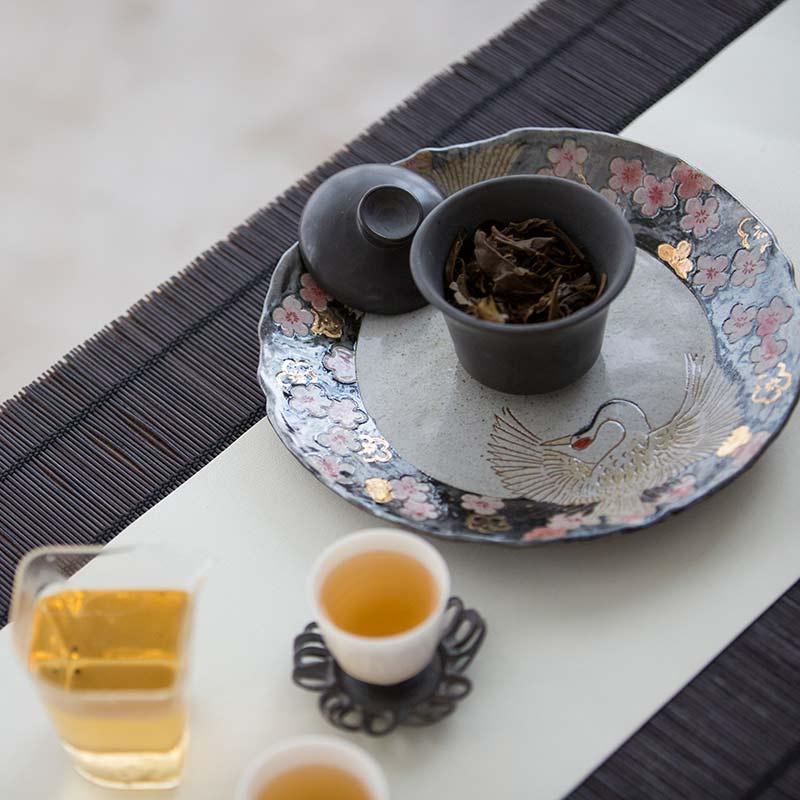 Cloud 9 Tea Tray Pot Support – Black