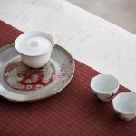 Cloud 9 Tea Tray Pot Support – Red