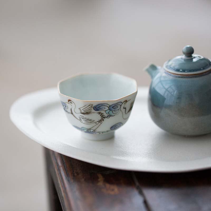 Old Time Handpainted Teacups II