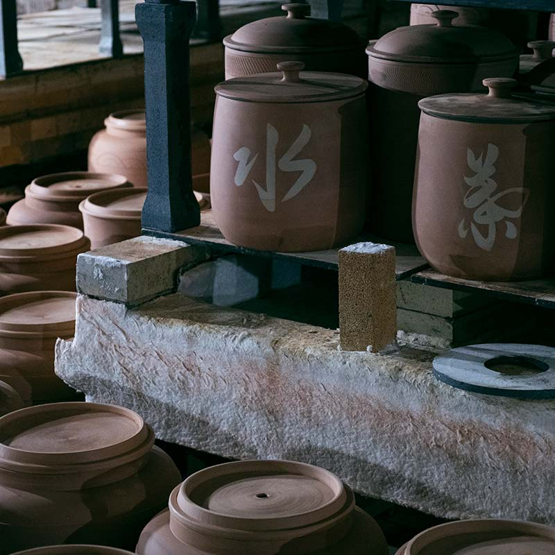 Essentials Jianshui Zitao Tong & Water Jars