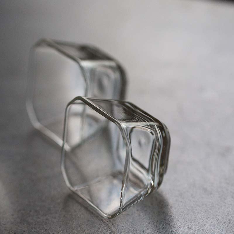 Crystalline Glass Teacup