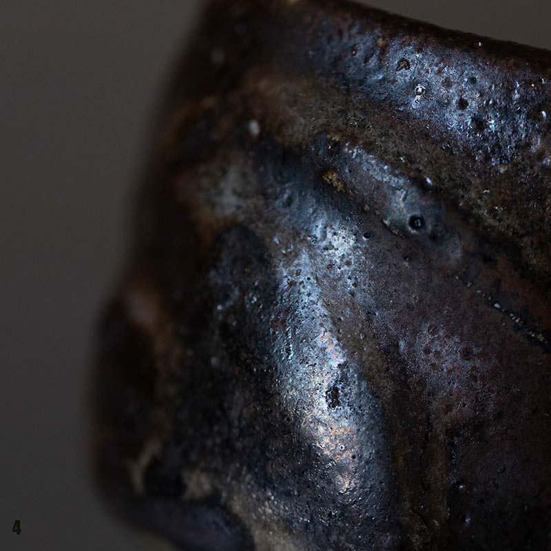 Moonrock Wood Fired Teacup