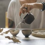 Plum & Brass Yixing Zini Clay Teapot