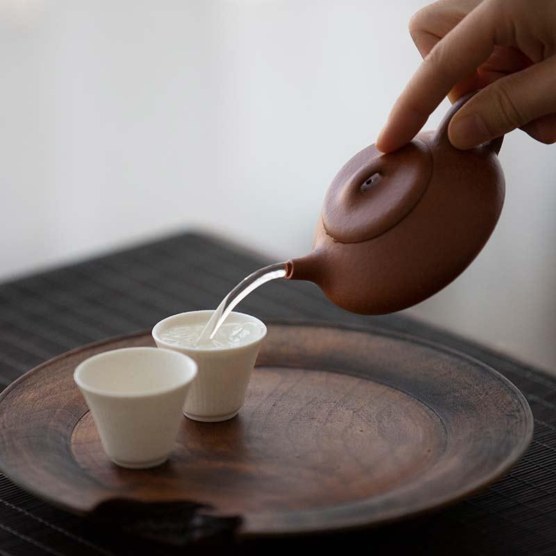 Script Shipiao Yixing Jiangponi Clay Teapot