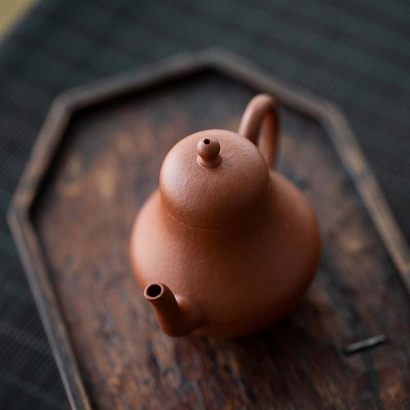 Fanggu Style Siting Yixing Zhuni Clay Teapot