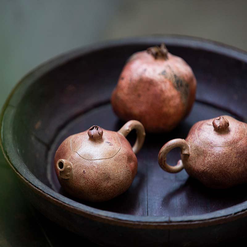 Pomegranate Yixing Duanni Teapot