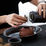 Rain or Shine Tea Jar