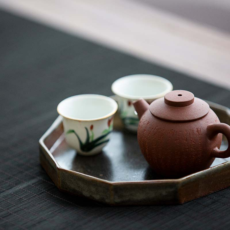 Rain or Shine Tea Tray