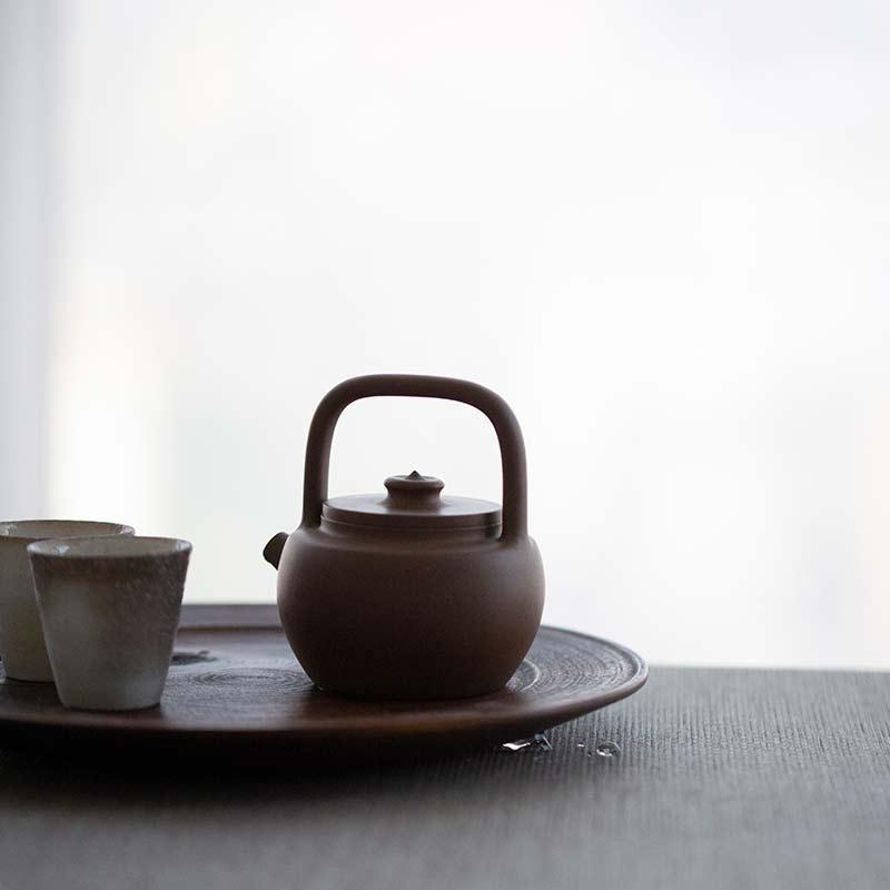 Julunzhu Tiliang Yixing Lao Duanni Clay Teapot