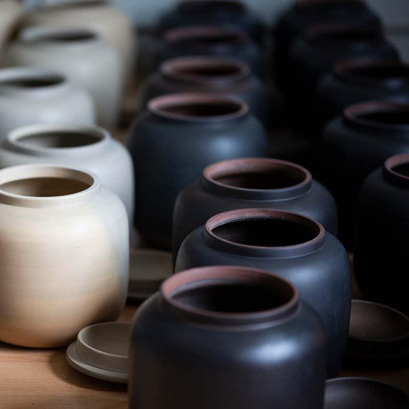 Midnight Jianshui Zitao Tea Jar
