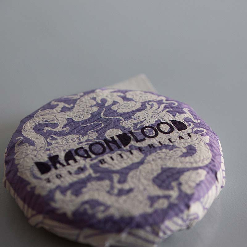 Dragon Blood 2015 Spring Lin Cang Zi Juan Raw Purple Tea