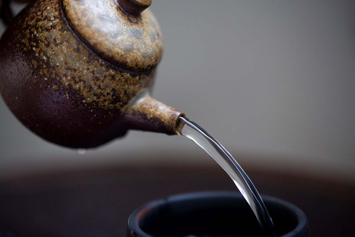 Sublime Wood Fired Teapot – Ban