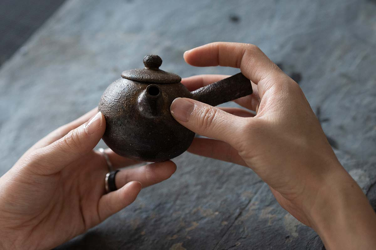 Sublime Wood Fired Kyusu Teapot – Chai