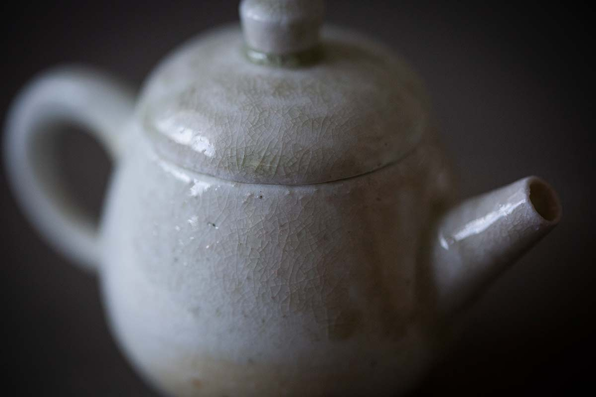 Sublime Wood Fired Teapot – Ji