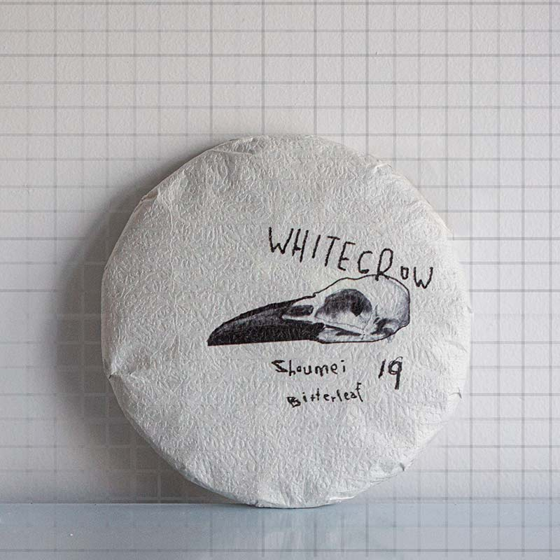 White Crow 2019 Lincang Shoumei White Tea