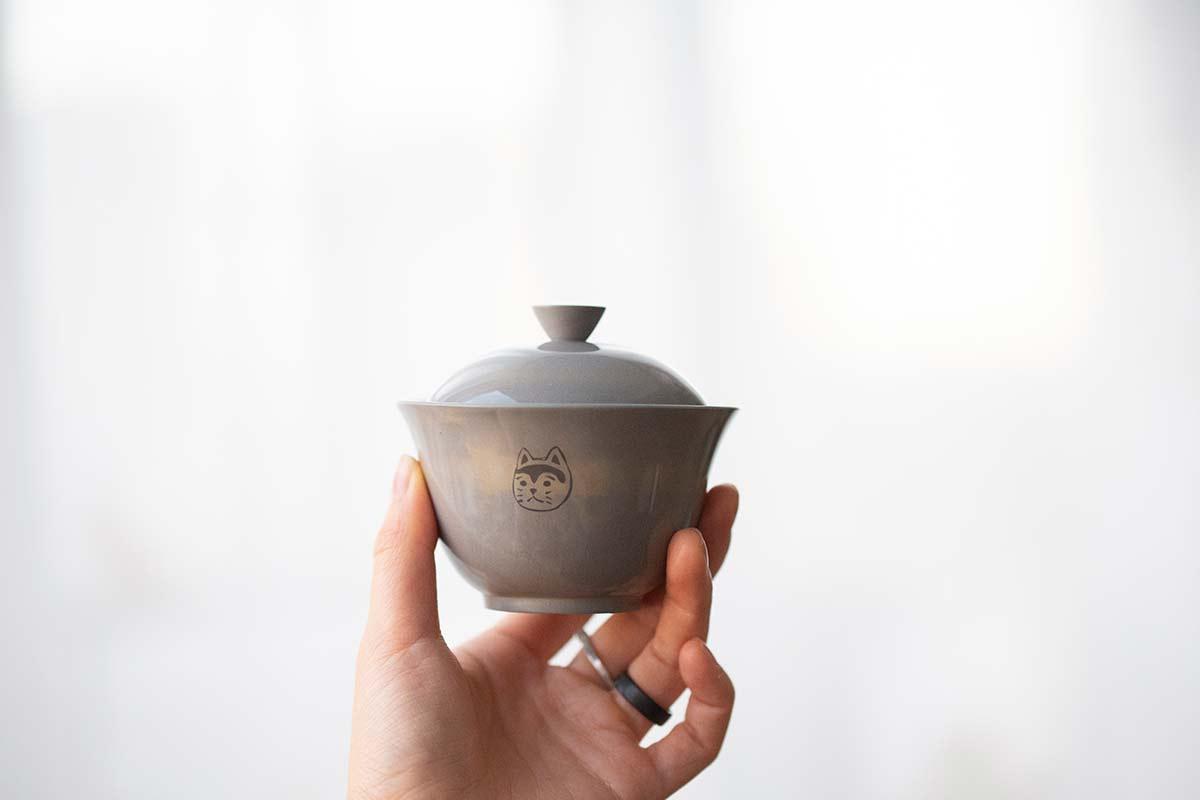 Bastet Jianshui Zitao Gaiwan – Grey