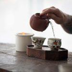 Cat & Leaf Teacup
