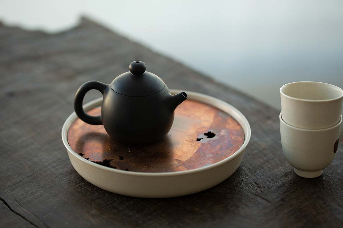Lucid Tea Tray (Round)