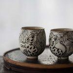 Mono Feline Master Teacup