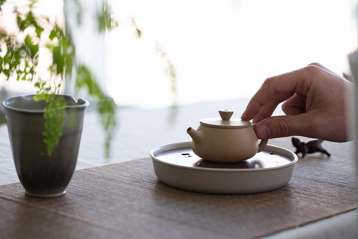 Journeyman Jianshui Zitao Teapot – White