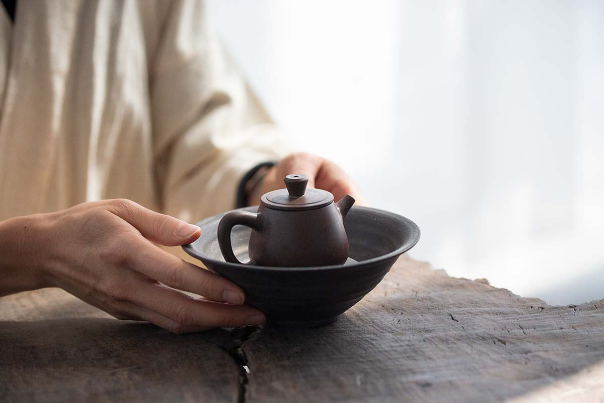 Wood Fired Gao Shipiao Jianshui Zitao Teapot – Chocolate
