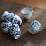 Blue Dream Qinghua Teacups