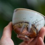 Egret Not Wood Fired Teacup
