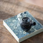 Deep Blue Sea Kyusu Teapot
