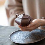 Liufang Bianhu Yixing Dicaoqing Clay Teapot