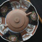 Bian Julunzhu Lao Duanni Yixing Teapot